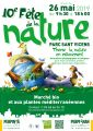 10e Fête de la Nature le 26 mai 2019 de 9h30 à 18h au Parc Sant Vicens