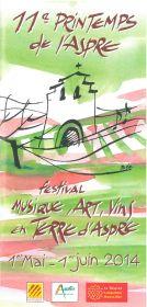 Festival Musique, Arts, Vins en Terre d'Aspres : 11e Printemps de l'Aspre