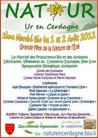 Grande Fête de la Nature de l'Eté les 1 et 2 août à UR dans les Pyrénées-orientales