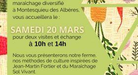 Printemps des Alternatives : une agriculture de proximité, saine, transparente, RDV samedi au jardin des Trompettes