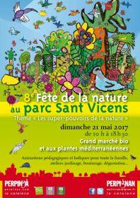 Fête de la Nature au parc Sant Vicens dimanche 21 mai 2017 de 10 h à 18 h 30