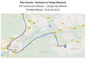 Au domaine du Temps retrouvé : « le samedi du vin naturel » Michael Georget nous accueille, à Laroque des Albères, le samedi 21 mai 2016.