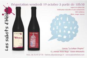 Dégustation Vendredi 19 octobre à partir de 18h30 au caveau LA GALOPE CHOPINE à Rivesaltes.