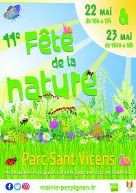 11e Fête de la Nature au Parc Sant Vicens le 22 et 23 Mai