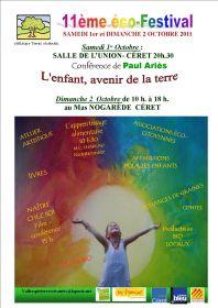 11ème Eco-Festival, Conférence de Paul Ariès