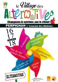 Le Village des Alternatives au Couvent des minimes à Perpignan du 16 au 18 octobre
