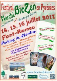 Festival et Marché BioZen c'est cette semaine à Font Romeu du 14 au 16 juillet !