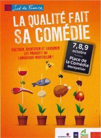La Qualité fait sa Comédie les 7, 8, 9 octobre à Montpellier