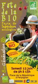 BIOGENERATION : marché bio festif Place République à Perpignan