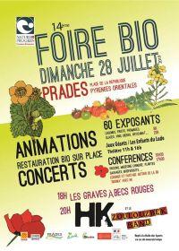 14e foire Bio à Prades dimanche 28 juillet Prades