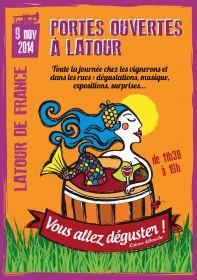 Portes ouvertes le 9 novembre à Latour de France : Vous allez déguster !