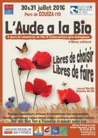 Foire Bio de Couiza (Aude) le samedi 30 et dimanche 31 juillet