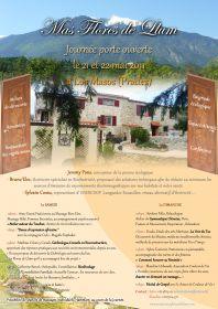 Porte Ouverte au MAS FLORES de LLUM à LOS MASOS les 21 et 22 Mai