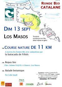 Ronde Bio Catalane le dimanche 13 septembre à Los Masos, organisée par Nature et Progrès