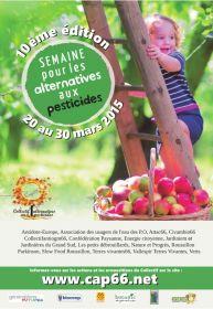 10ème EDITION : SEMAINE POUR LES ALTERNATIVES AUX PESTICIDES