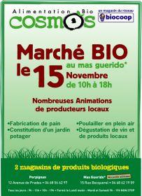 Biocoop Cabestany change de locaux et organise un marché bio