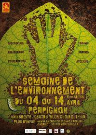 Semaine De l'Environnement dans les PO du 4 au 14 Avril : Spectacles, Films, Conférences, Animations, Forum, Sorties...