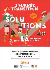 Journée de la transition le 24 septembre au parvis du Castillet à Perpignan de 9h à 18h
