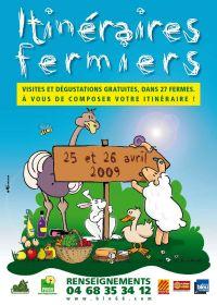 ITINERAIRES FEMIERS - 25 ET 26 AVRIL 2009