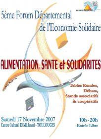Alimentation, Santé et Solidarités