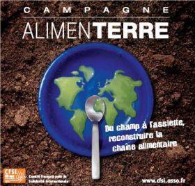Festival ALIMEN ' TERRE  du 9 au 25/11/10 : Du Champ à l' Assiette reconstruire la chaîne alimentaire