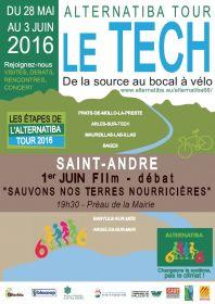 Dans le cadre de l'ALTERNATIBA TOUR 2016,  Projection débat à SAINT-ANDRÉ le mercredi 1er juin à 19h00