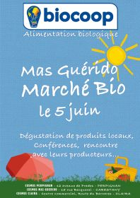 Samedi 5 juin le Magasin Biocoop Cosmos du Mas Guérido, vous convie à fêter le Printemps.