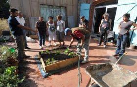 Artboressence - Art et Environnement  Ateliers printemps 2012 Jardinage Ecologique avec Sophie Garcia