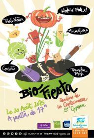 Bio fiesta : Marché bio à St Cyprien le jeudi 20 août à partir de 17h