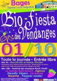 Bio-Fiesta des Vendanges le 1er octobre 2011