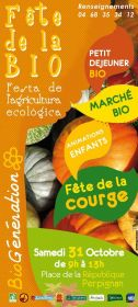 BIOGENERATION : FETE DE LA COURGE SUR LA PLACE REPUBLIQUE