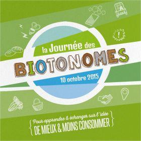 Journée des Biotonomes samedi 10 octobre aux Biocoop Cabestany, Claira et Perpignan et sur le Marché Republique à Perpignan