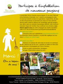 Campagne de soutien à Terres Vivantes