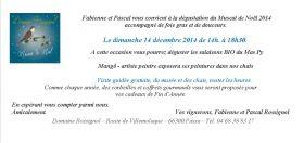 Le Domaine Rossignol vous invite à venir déguster son muscat de Noël le dimanche 14 décembre