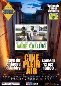 Ciné plein air : Le vin se lève samedi 12 octobre dans les caves du château d'Aubiry