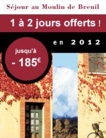Découvrez et faites découvrir l'atmosphère du Moulin de Breuil