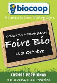 Foire bio à la Biocoop Cosmos Perpignan