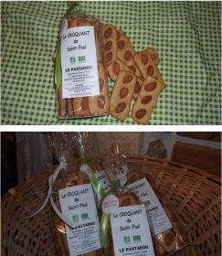 Le Pastadou vous propose le Croquant de Saint Paul certifié Bio