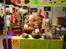 5 représentants des produits bio catalans au Salon Marjolaine à Paris