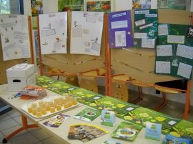 La semaine du goût aux collèges F. Mittérand (Toulouges) et Collège Le Ribéral à St Estève