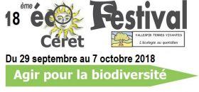 18ème Éco - Festival dimanche 7 octobre 2018 au mas de Nogarède