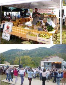 Venez découvrir tous les jeudis de l'été, de 17h à 20h, les petits marchés bio animés, de la Vallée Gourmande (Rotja)