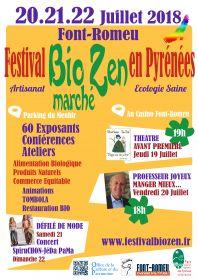 Festival BioZen du 20 au 22 juillet à Font Romeu