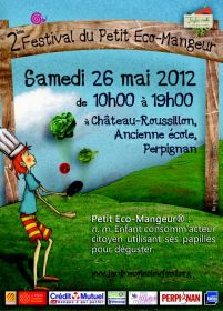 2ème Festival du Petit Ecomangeur le 26 mai à Perpignan