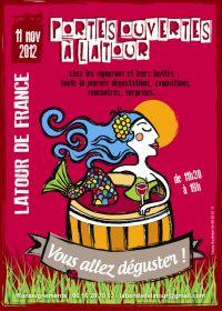 Portes ouvertes à Latour de France chez les viticulteurs le  dimanche 11 novembre...Vous allez déguster !