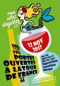 Portes ouvertes à Latour de France le 12 novembre de 10h à 19h : Vous allez déguster !!!