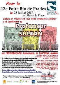 12e Foire Bio de Prades le 23 juillet à 15h sur la place.