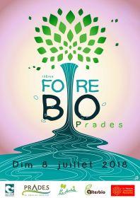 Foire Bio de Prades le dimanche 8 juillet 2018