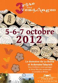3ème Fête des vendanges à Corneilla la Rivière  les 5-6-7 octobre