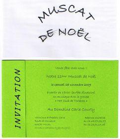 Dégustation du Muscat de Noël au Domaine Carle Courty